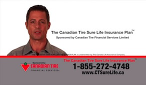 Canadian Tire television ad voice recording